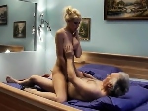 young sex video old man
