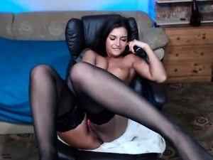 sexy babes in tan stockings