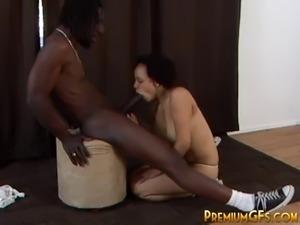 tgirl fucking black guy