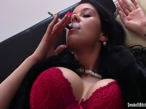 young girls smoking cigarettes and fucking