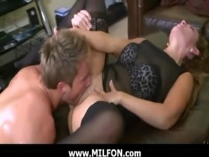 mommy loves anal with black men