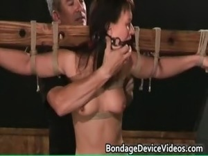 tied milf pussy