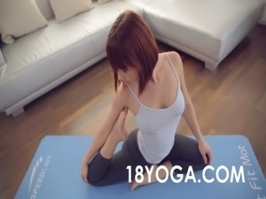yoga girls nude pussy poses