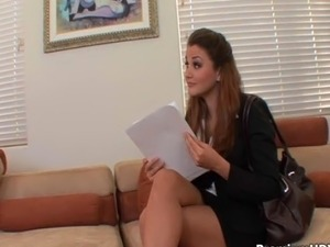 young secretary naked white panties