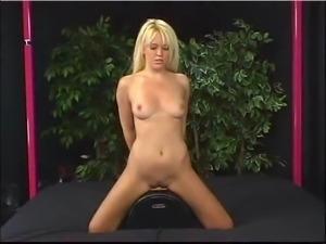 cute girl sybian orgasm