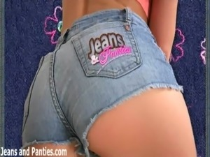 denim jean elastic waist petite