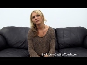 blonde anal casting couch video