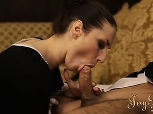 french maid double fuck free video