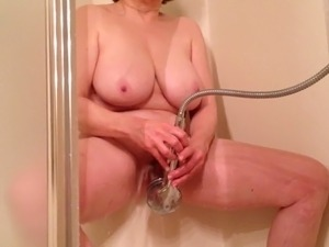 completely naked shower video