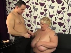 bbw tits video