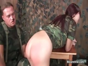 hot army girl ass