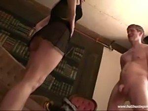 free porn movies ballbusting babe