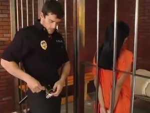 wife fuck in jail