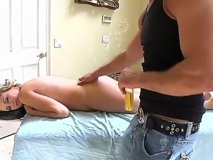 girlfriend forced amateur strip