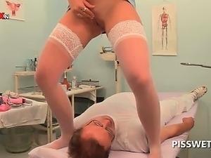 pissing mature women lesbian