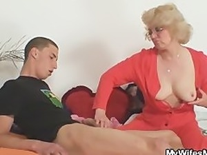 japanese mother handjob