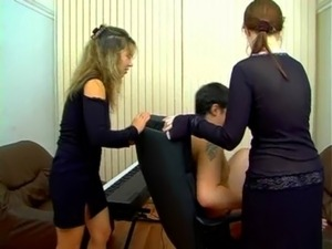blonde threesome sex