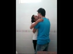 girl fucked video college bathroom