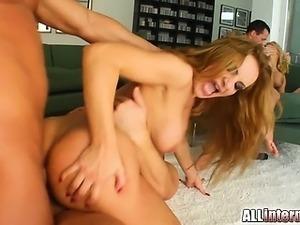 hardcore porn double penetration interracial