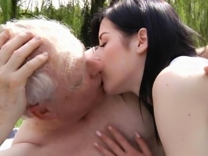 old man eats young pussy