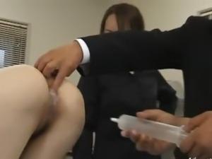 asian milking video