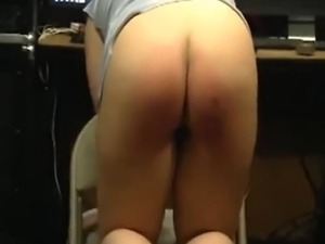 girl spanks and butt fucks guy