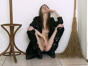 sexy asian slut in boots