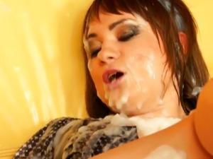Glory hole sex video