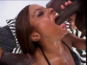 ebony first anal tube