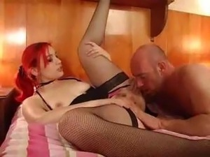 very young girl swallows cum