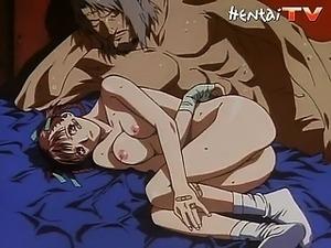sexy d hentai blonde fucked
