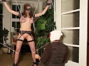 bizarre anal insertion tied video