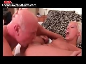 old man fucks young pretty girl