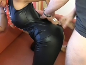 Latex girls sex