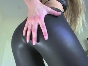 girl in sexy latex