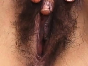 black girls hairy pussy movies