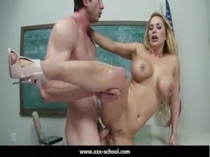 dirty blonde schoolgirl