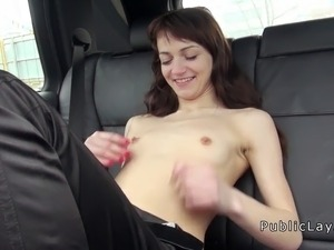 girl having sex with car