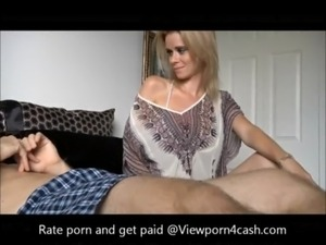 stepmom teachs young son to fuck