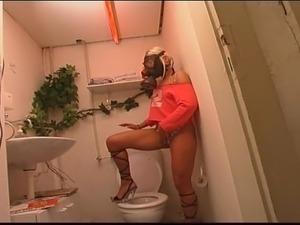 wife toilet sex