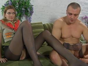 mature pantyhosed sex videos