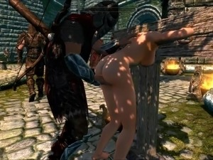 Perils of escaped skyrim slavegirl 02 - 3 part 9