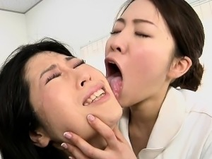 japanese lesbian sucking tits publicly