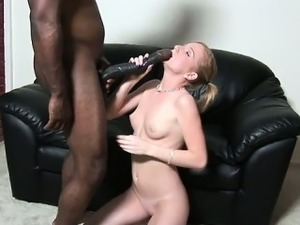 skinny black girls takes big cock