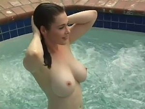 naked girls pool party