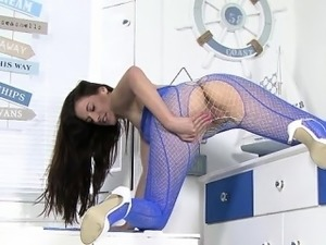 cute girl having an orgasm