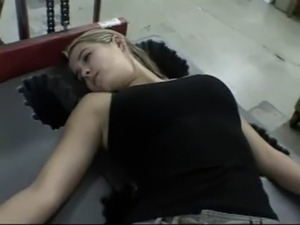 wife sleeping panties video