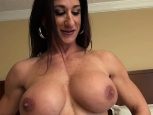 stroke your naked girlfriends clit