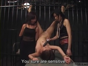 asian girl in leather bondage