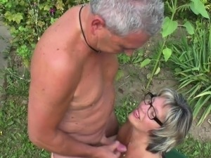 threesome videos german